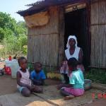 Crianças atendidas pela Bolsa-Escola em Moçambique