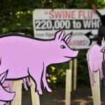 Entrega da petição da Avaaz sobre a gripe suína na OMS em Geneva