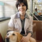 Amizade entre Thays e seu cão-guia é retratada em obra a ser lançada neste mês