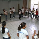 Oficina de teatro espontâneo do Projeto Nossas Histórias realizada na Região Metropolitana de Fortaleza