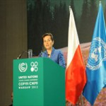 Secretária-executiva da Convenção-Quadro da ONU sobre Mudanças Climáticas, Christiana Figueres