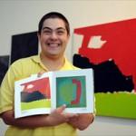 Para Lucio Piantino, seus quadros são filhos