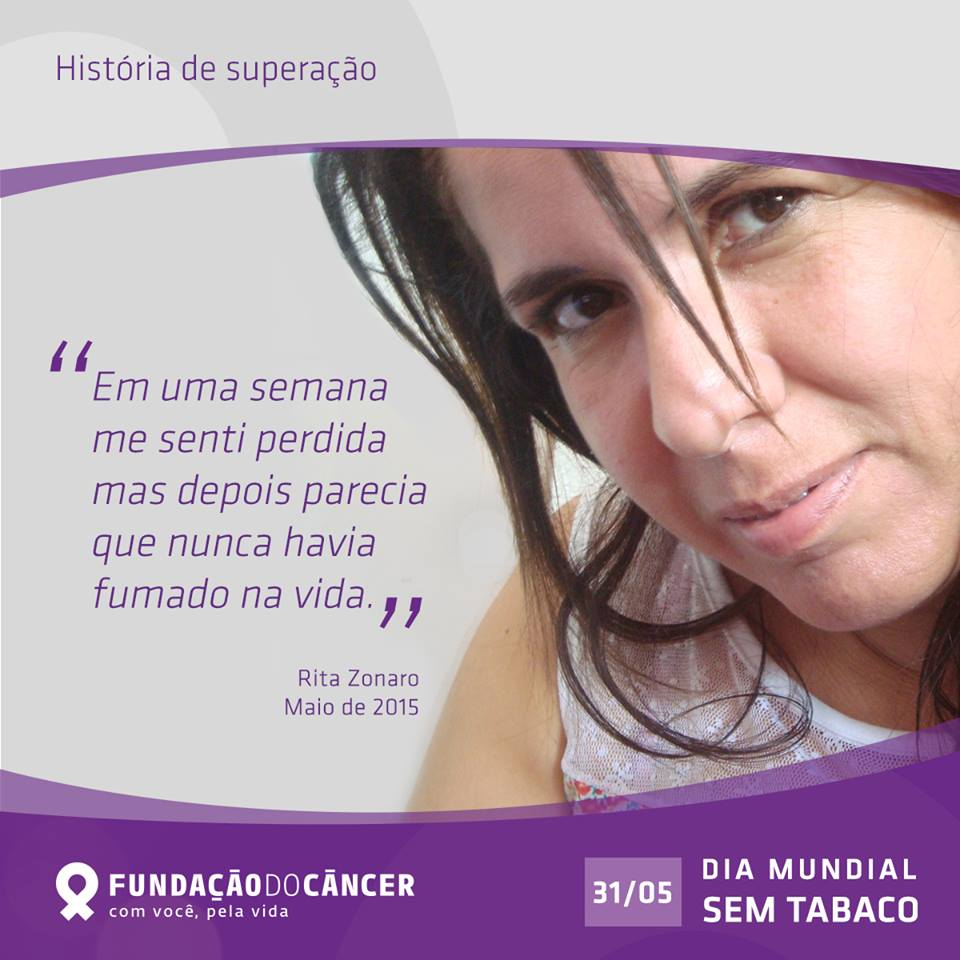 Dia Mundial sem Tabaco - Depoimento Rita