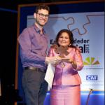 Sérgio Andrade, vencedor do Prêmio Empreendedor Social